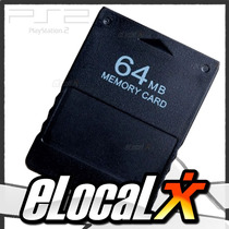 Nueva!! Memory Card Ps2 Playstation 2 Slim Y Fat 64mb