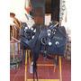 Silla De Montar Negra Lisa Con Herraje Completo
