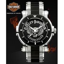 Reloj Harley-davidson Skull Wing Bulova 78a109