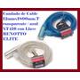 Candado De Cable 12mmx1800mm.transparente Y Azul Xt416 Con L