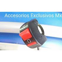 Swich Apagador Interruptor Motocicleta Auxiliar Luces Foco