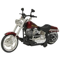 Nuevo Brillante De 12 Con Pilas Harley Davidson Softail Bic
