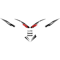 Kit De Calcomanias Para Moto Kawasaki Ninja 500 Ex500 08-09