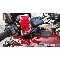 Soporte Bebida Refresco Cerveza Holder Motocicleta Agarrad