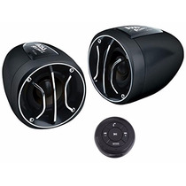 Bocinas Amplificadas Para Moto Con Adaptador Bluetooth Usb