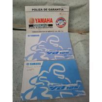 Manuales Y Poliza De Garantia De Moto Yamaha 125