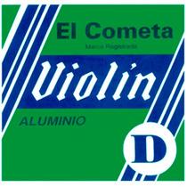 Encordado El Cometa Para Violín, Aluminio 718