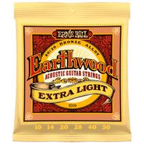 Encordado Para Guitarra Earthwood Xlight Ernie Ball 2006