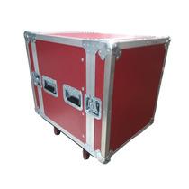 Rack De 12 Espacios Rojo Para Amplificadores Y Perifericos