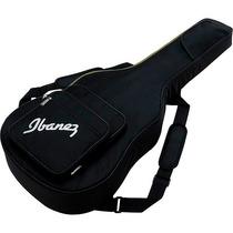 Funda Para Guitarra Acústica Ibañez Negra Iab510 Bk