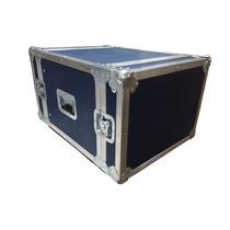 Rack De 8 Espacios Azul Para Amplificadores Y Perifericos