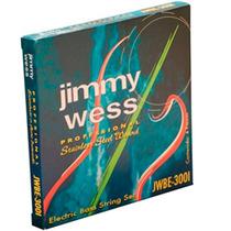 Cuerda Jimmy Wess Para Bajo Eléctrico, Pro. Niquel 028 Wnb28