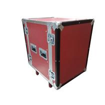 Rack De 14 Espacios Rojo Para Amplificadores Y Perifericos