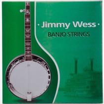 Encordado Jimmy Wess Para Banjo, Acero Jwbj-550