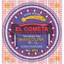 Cuerda 3a El Cometa Para Mandolina, 12 Piezas Cobre 602
