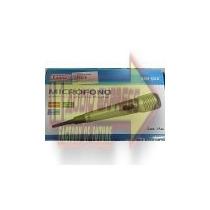 Microfono Alambrico/inalambrico Metalico Verde Dxr490032