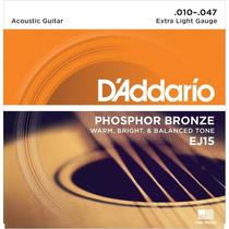 Cuerdas Guitarra E/acústica D