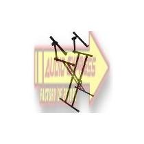 Base Metalica Doble P/teclado Reforzado Dxr043127