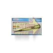Microfono Alambrico/inalambrico Metalico Verde Dxr490027