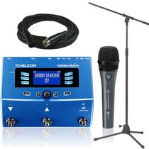 Tc Helicon Voicelive + Sennheiser E835 Fx + Cable Y Soporte