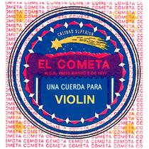 Cuerda 4a El Cometa Para Violín, 12 Piezas Acero .033 914