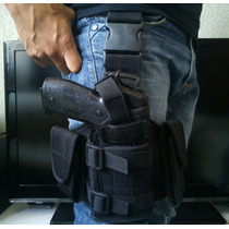 Piernera Tactica Para Arma, Militar, Airsoft, Beretta Glock