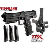 Marcadora Tippmann Tipx Tpx 3 Magazin Piernera Gotcha Xtreme
