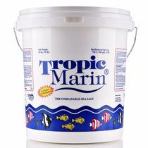 Sal Marina Tropic Marin 20kg 600lt Peces Y Corales Blandos