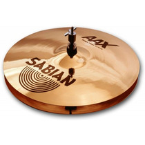 Platillo Sabian Aax Stage Hats Medium 14 21402xb