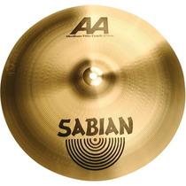 Platillo Sabian Aa 16 Med. Thin Crash Mod. 21607b