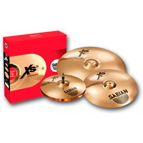 Platillo Sabian Xs20 Perfor. Set (hh, Crash Y Ride) Xs5005