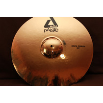 Platillo Paiste Alpha Rock Crash De 20