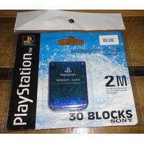 Memory Card Psone 2mb El Mejor Precio
