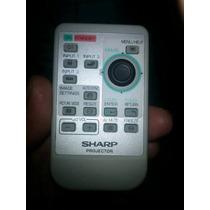 Control Remoto Para Proyector Sharp Rrmcga256wjsa