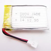 Batería De 3.7v 500mah Mkt Para Una Parte Del Syma X5c Rc He