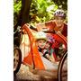 Remolque Instep Para 2 Niños Para Bicicletas Color Naranja..