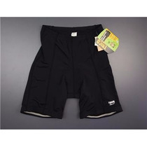 Sports Trico Short Lycra Con Proteccion De Gel Ciclismo M