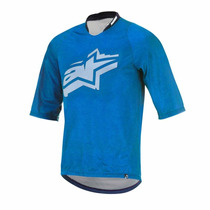 Alpinestars Jersey Totem Bright Blue White