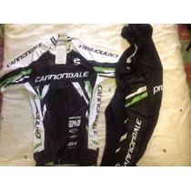 Uniforme De Ciclismo Cannondale Negro 2015 Jersey+short Bib.