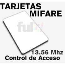 Tarjetas Mifare 13.56mhz Control De Acceso Iso14443a Vv4