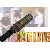 Detector De Metales Portátil, Tipo Garret, Seguridad