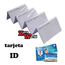 Tarjetas De Proximidad 125 Khz Id Card Imprimibles Uso Rudo