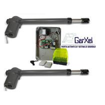 Kit Automatizacion Porton Abatible Con Bateria Igual Bat 300