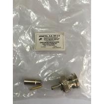 Conector Bnc Macho 75 Ohms Para Cable Cecbv 75-2 Remate