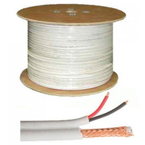 Cable Siames Coaxial Para Camara Videovigilancia Cctv