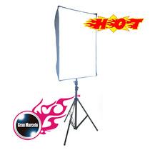 Caja Suavizadora De Luz / Softbox Para Flash De 60cm X 90 Cm
