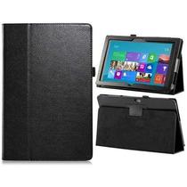 Kit Funda Tablet Microsoft Surface Pro Negra + Mica Rm4