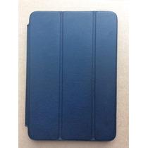 Funda Original Ipad Mini 1,2 Y 3 De Piel Italiana Color Azul