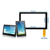 Touch Pantalla Tablet Q88 Zonar Mrt Libitium Mid Genéricas