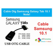 Cable Adaptador Usb Otg Para Galaxy Tab P3110-p5110-note10.1